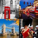 4 Bilder 1 Wort 6 Buchstaben LONDON